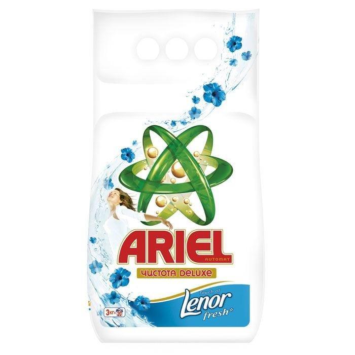 Ariel Стиральный порошок автомат Lenor Fresh 3 кг