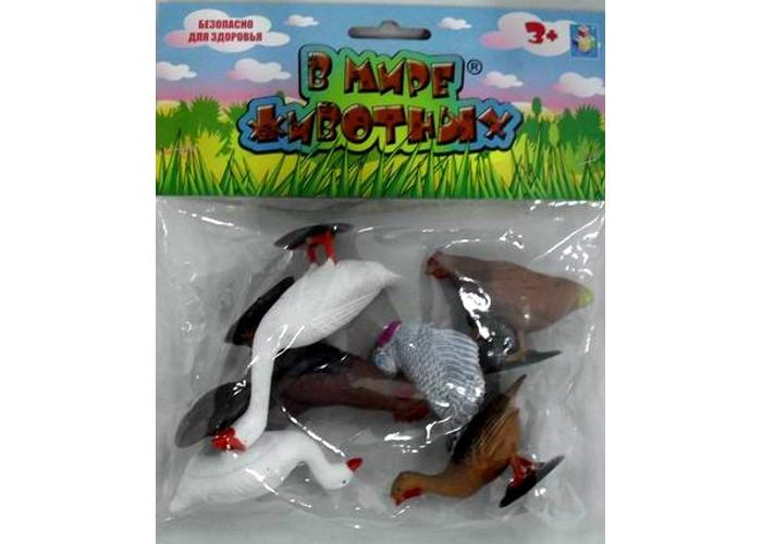 1 Toy Набор фигурок Домашняя птица 5 шт.