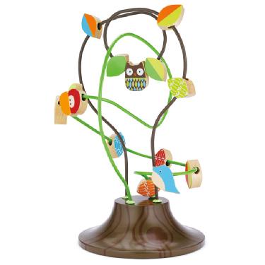 Деревянные игрушки Skip-Hop Treetop Busy Bead Tree