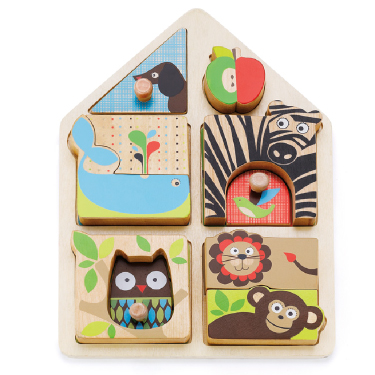 Деревянные игрушки Skip-Hop Пазл Alphabet Matching Game