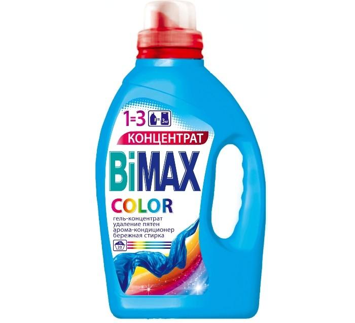 BiMax Гель-концентрат для стирки Сolor 1.5 лГель-концентрат для стирки Сolor 1.5 лГель-концентрат BiMax с пониженным пенообразованием применяется для замачивания и стирки изделий из цветных хлопчатобумажных, льняных и синтетических тканей. Средство содержит добавки, которые высокоэффективно удаляют загрязнения и при этом не оказывают отрицательного воздействия на цвет и структуру текстильных волокон. Особая формула геля позволяет значительно улучшить качество стирки при минимальном использовании средства.  Особенности: Рекомендуется для стирки хлопковых, льняных и синтетических тканей, а также тканей из смешанных волокон. Для цветного белья. Сохраняет яркость цветов при стирке. Быстро растворяется в воде, легко выполаскивается. Очень экономично расходуется (заменяет 3 кг стирального порошка). Имеет пониженное пенообразование. Дарит вещам мягкость, свежесть и легкий приятный аромат. Подходит для стиральных машин любого типа и ручной стирки.  Состав: поверхностно-активные вещества (5-15%), неиногенные поверхностно-активные вещества (5-15%), мыло, мыло (5-15%), поликарбоксилаты (менее 5%), энзимы (менее 5%), ароматизирующая добавка (менее 5%), оптический отбеливатель (менее 5%), консервант (менее 5%).<br>