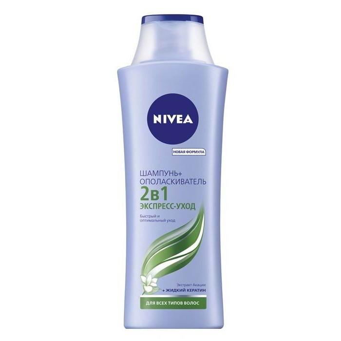 Nivea Шампунь 2 в 1 для всех типов волос 250 мл