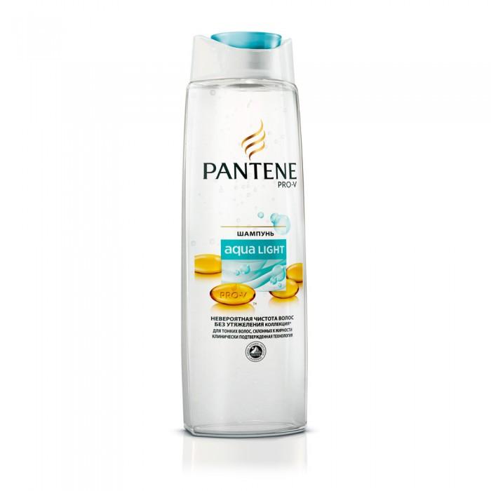 Pantene Легкий питательный шампунь Aqua Light для тонких склонных к жирности волос 250 мл