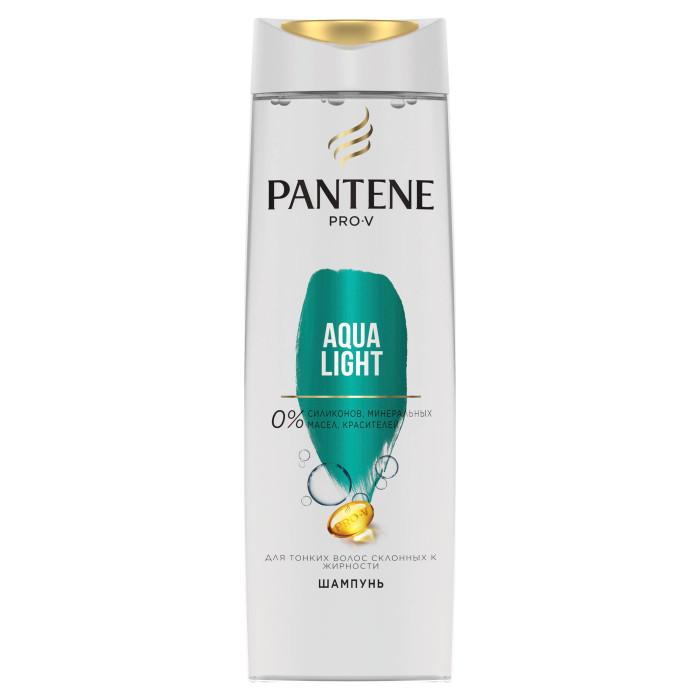 Pantene Легкий питательный шампунь Aqua Light для тонких склонных к жирности волос 400 мл