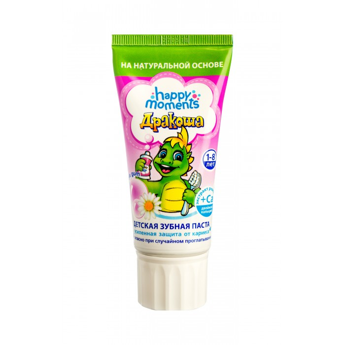 Дракоша Зубная паста Детская гелевая Bubble gum 60 мл