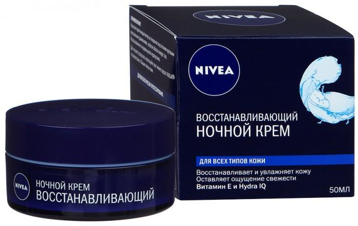 Nivea Крем ночной восстанавливающий Aqua Effect 50 мл