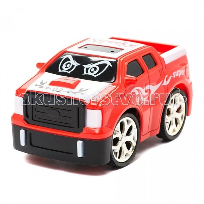 1 Toy Машинка на радиоуправлении Мульт-Драйв Пикап Super 13 см