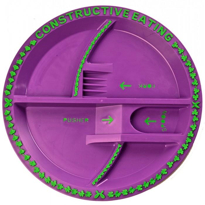 Constructive eating Garden Fairy Plate Тарелка Серия Волшебный сад