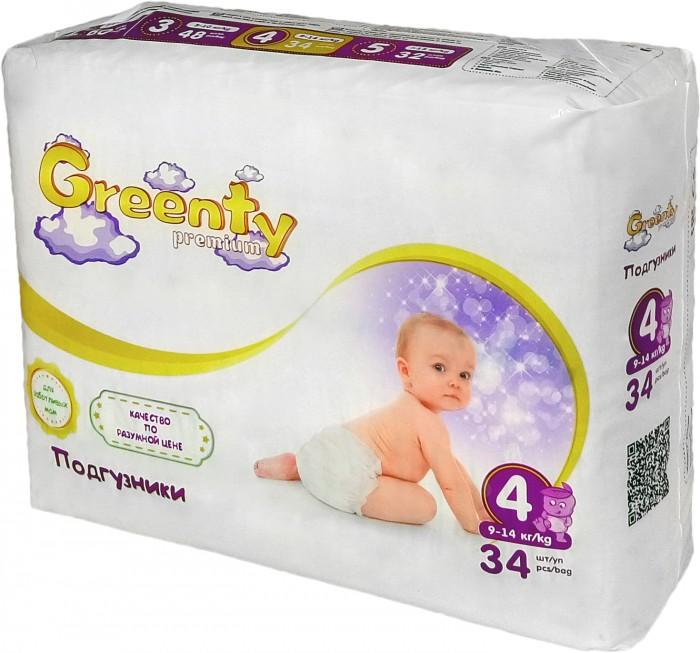 Greenty Подгузники 4 (9-14 кг) 34 шт.Подгузники 4 (9-14 кг) 34 шт.Greenty 4 Одноразовые детские подгузники (9-14 кг) 34 шт.  Оснащены нежными, мягкими, удобными застежками-липучками, которые бережно удерживают одноразовый подгузник на теле ребенка в наиболее удобном положении. В них используется супер впитывающий гель, который оставит попку сухой даже ночью Поэтому их можно использовать не только днем, но и ночью Застежки легко регулируются, поэтому каждому малыш будет абсолютно комфортно Детские подгузники позволяют нежной и чувствительной коже дышать Благодаря этому исключается раздражение и воспаление кожи, здоровье малыша сохраняется в безопасности<br>