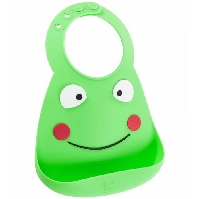 Нагрудник Make my day Baby Bib Frog