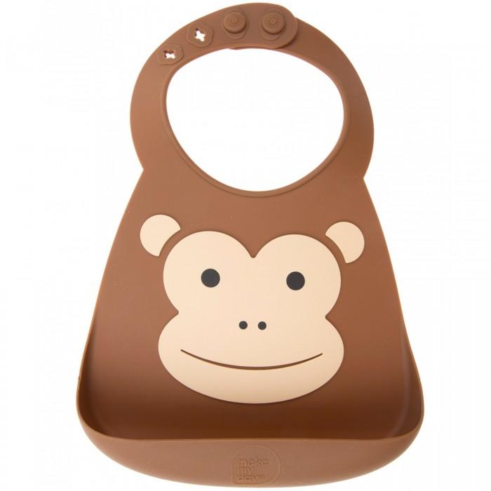 ��������� Make my day Baby Bib Monkey