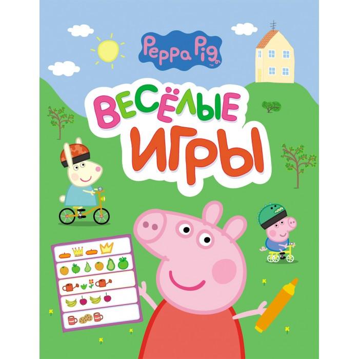 Peppa Pig Свинка Пеппа Веселые игрыСвинка Пеппа Веселые игрыСвинка Пеппа Веселые игры - это отличный способ весело и с пользой провести время. Интересные задания помогут развить логическое мышление и творческие способности вашего малыша. Герои любимого мультфильма не дадут ребенку заскучать!<br>