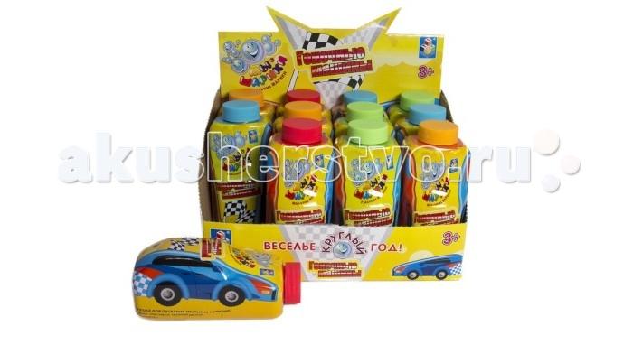 1 Toy Мыльные пузыри Мы-шарики Гоночные машины 192 мл