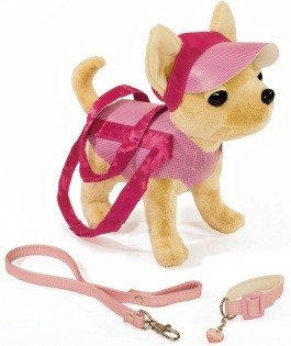 Мягкие игрушки Simba Собачка Чихуахуа в кепке Chi Chi Love