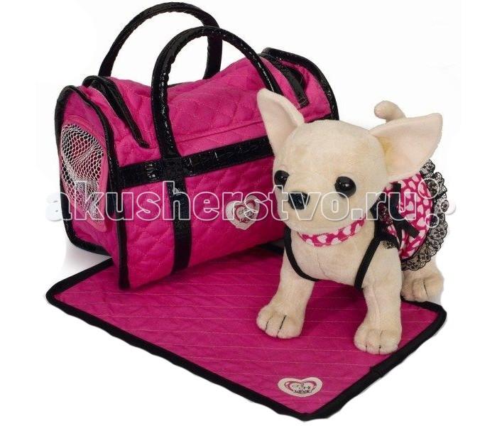 Мягкие игрушки Simba Собачка Чихуахуа в платье, светящемся в темноте 5899700