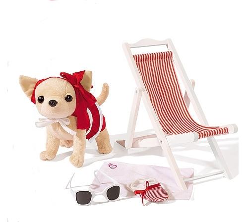 Мягкие игрушки Simba Собачка чихуахуа на пляже 5894232