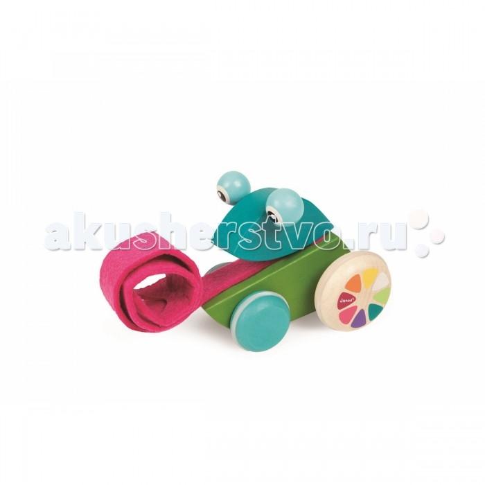 Каталка-игрушка Janod Лягушонок