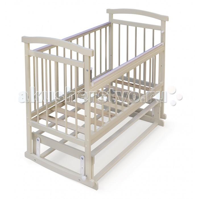 Детская кроватка Бэби Бум Аленка 2 (поперечный маятник)