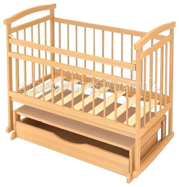 Детская кроватка Бэби Бум Аленка 3 маятник