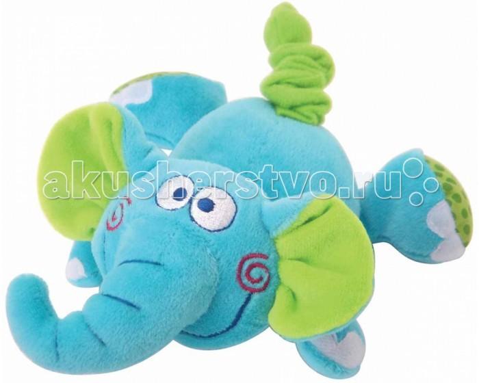 Мягкая игрушка Мир детства СлоненокСлоненокПрекрасная развивающая игрушка Слоненок с функцией вибрации понравится Вашему малышку и звуковым сопровождением, которое вызовет у малыша ответную эмоциональную реакцию.  Игрушка покрыта нежной велюровой тканью ярких цветов.   Рекомендуемый возраст: от 6 месяцев<br>