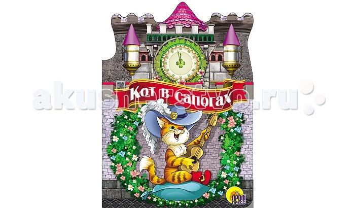 Проф-Пресс Книжка-вырубка большая Кот в сапогахКнижка-вырубка большая Кот в сапогахВ красивых картонных книжках с вырубкой малышей ждёт встреча с любимыми сказками и потешками,а дополнят радость встречи яркие,весёлые иллюстрации.  Основные характеристики:  Размеры: 16.0х0.6х22.0 см. Масса: 0.125 кг. Объем: 0.0072<br>