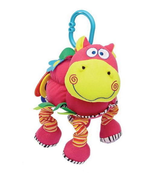 Подвесные игрушки Мир детства Веселый бегемот
