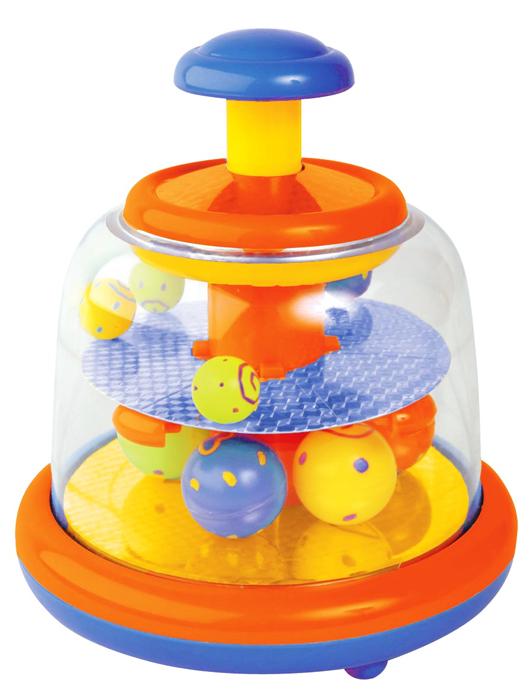 Развивающие игрушки Мир детства Юла с шарами Звездопад