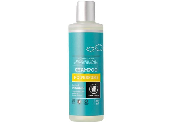 Urtekram Шампунь для нормальных волос без аромата 250 млШампунь для нормальных волос без аромата 250 млШампунь для нормальных волос без аромата 250 мл - органический  шампунь для нормальных волос без аромата специально создан для людей, склонных к аллергическим реакциям. Натуральные увлажняющие компоненты алоэ вера и растительный глицерин обеспечивают деликатный уход и увлажнение.   Сертифицировано ECOCERT Greenlife в соответствии с COSMOS ORGANIC.  Сертифицировано Astma-Allergi Danmark.  100% натуральных компонентов.<br>