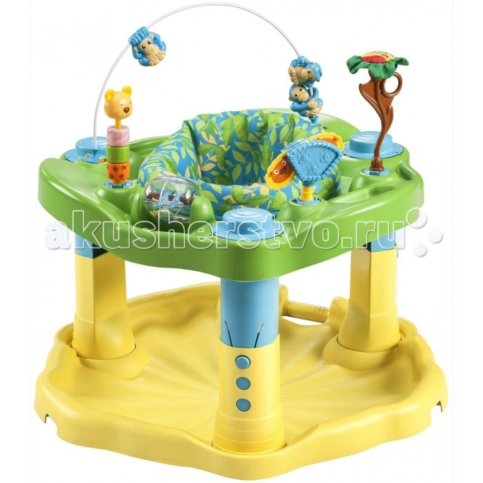 Игровые центры Evenflo ExerSaucer Zoo Friends