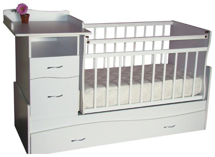 Кроватки-трансформеры Островок уюта Акушерство. Ru 8350.000