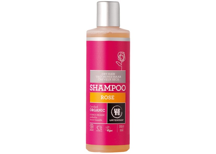 Urtekram Шампунь для сухих волос Роза 250 мл