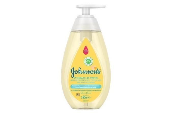 Johnsons Baby Пенка-шампунь От макушки до пяток 300 мл