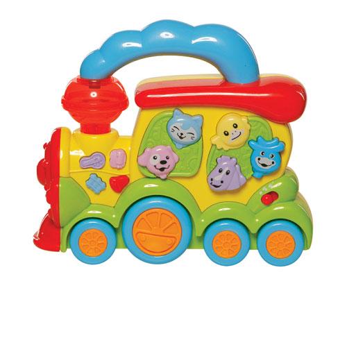 Электронные игрушки Bebelino Игрушка Паровозик Веселый зоопарк