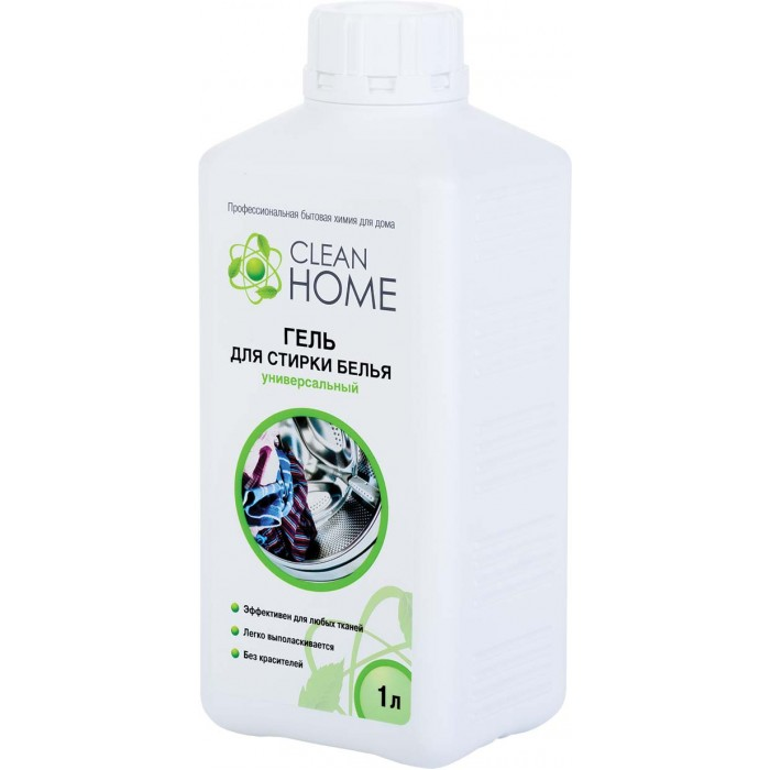 Clean Home Гель для стирки белья универсальный 1000 мл