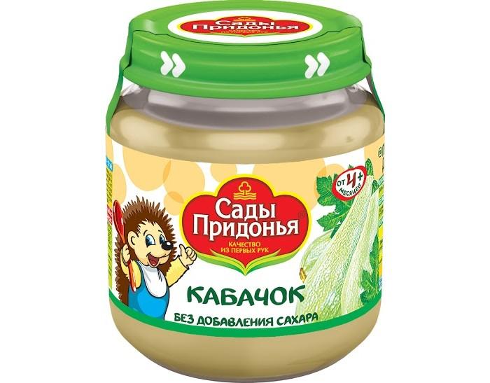 Сады Придонья Пюре Кабачок с 4 мес., 120 г
