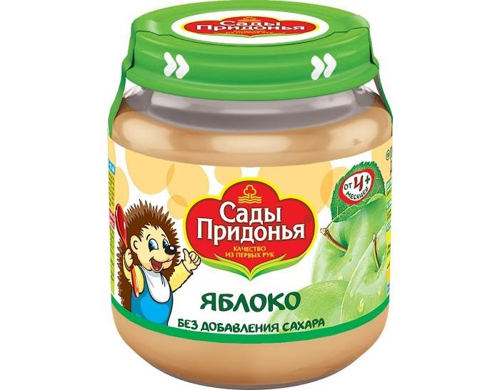 Сады Придонья Пюре Яблоко с 4 мес., 120 г