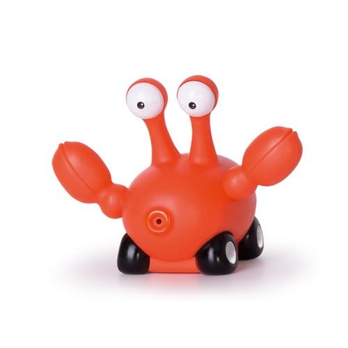 Bebelino Игрушка для ванной КрабИгрушка для ванной КрабОчаровательная игрушка для ванной в виде маленького крабика будет радоваться вашего малыша во время купания.<br>