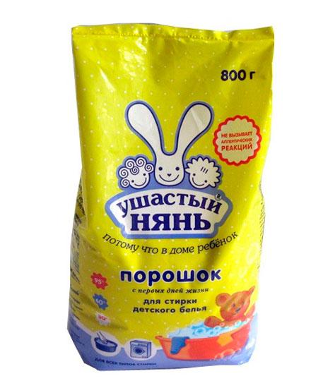 Моющие средства Ушастый нянь Стиральный порошок 800 г
