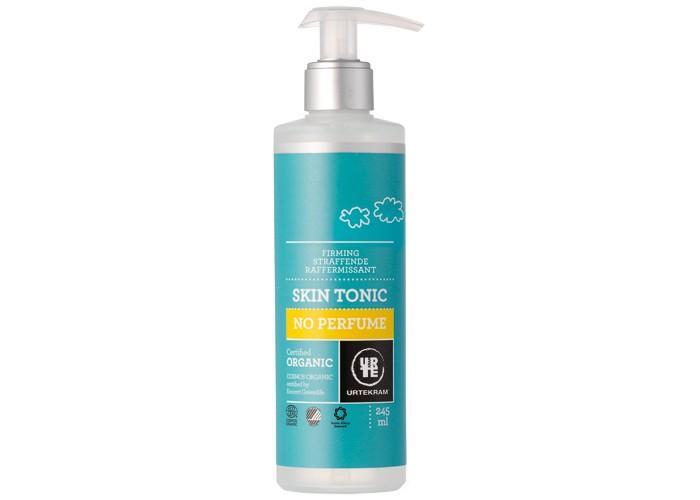 Urtekram Тоник для лица без аромата 245 млТоник для лица без аромата 245 млТоник для лица без аромата 245 мл - органический увлажняющий тоник для лица с березовым сахаром и алоэ-вера деликатно подтягивает, освежает и великолепно увлажняет кожу. Не содержит ароматических добавок. Подходит для людей, склонных к аллергическим реакциям.   Сертифицировано ECOCERT Greenlife в соответствии с COSMOS ORGANIC. Сертифицировано Nordic Ecolabel и Astma-Allergi Danmark.  100% натуральных компонентов.<br>