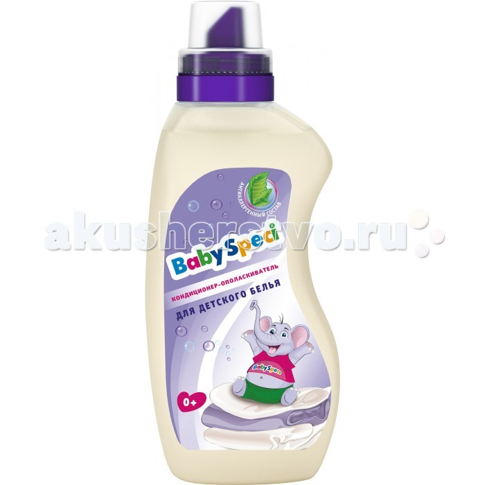 Baby Speci Кондиционер-ополаскиватель для детского белья 1 л