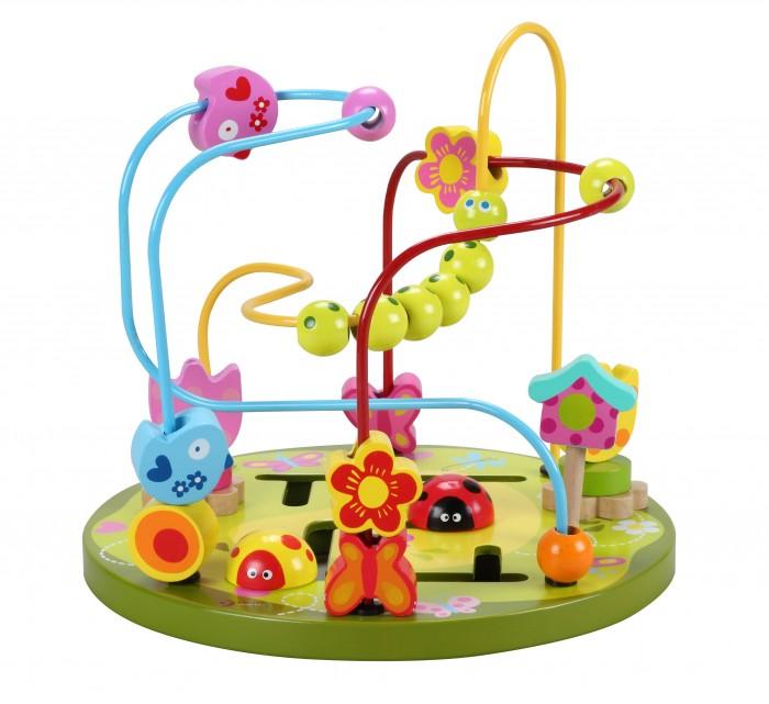 Деревянная игрушка Classic World Лабиринт Цветочные горкиЛабиринт Цветочные горкиСортер-лабиринт Цветочные горки   Познакомить своего малыша с фигурами и формами, а также развить его пространственное мышление вам поможет отличная развивающая игрушка - сортер- лабиринт «Цветочные горки».  Малышам понравится перекатывать яркие фигурки по изогнутым в разных плоскостях проволокам.<br>