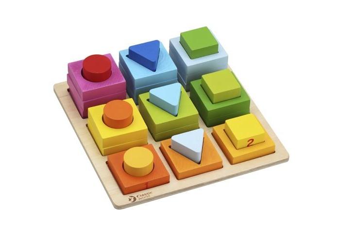 Сортер Classic World Геометрические блоки Геометрические блоки 3538