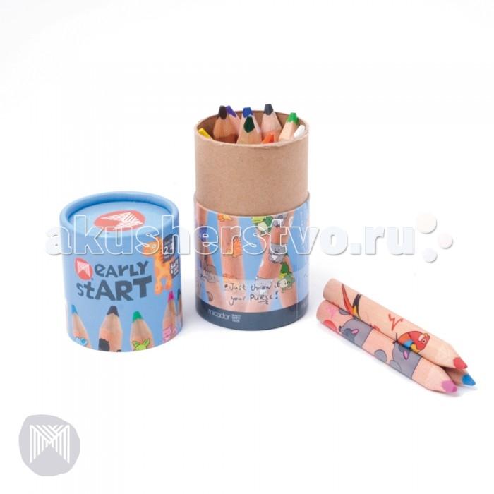 Micador Цветные карандаши треугольные 12 шт.