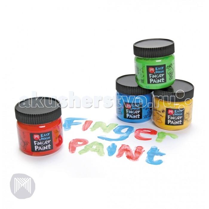Micador Разноцветные пальчиковые краски 4 шт.Разноцветные пальчиковые краски 4 шт.Разноцветные пальчиковые краски 4 шт.  Яркие безопасные пальчиковые краски для долгих часов веселья и радости малышей. Благодаря кремовидной структуре красок маленькие художники будут рисовать более аккуратно. Отлично смываются в теплой мыльной воде, что обязательно оценят родители.   Благодаря краскам с высокой пигментацией рисунки даже после высыхания остаются яркими. Не содержат токсичных веществ, полностью безопасны для детей.   Рисование развивает творческие способности, воображение, логику, память, мышление.  Пусть мир вашего ребенка будет ярким и безопасным!<br>