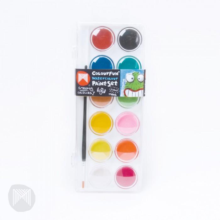 Micador Стильные акварельные краски 12 цветов