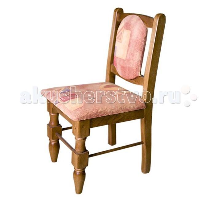 Гудвин Стул с мягкой спинкойСтул с мягкой спинкойДетский стульчик с мягкой спинкой из массива отличается своей крепостью и прочностью.   Деревянный стульчик прекрасно будет гармонировать с мебелью из дерева в любой комнате Вашего интерьера.  Подушка и спинка деревянного стульчика мягкие, что добавит удобства и прибавит часы творчества Вашему ребенку.   Материал: массив дерева  Размеры: высота ножки: 27 см высота спинки: 58 см сиденье (ШхГ): 30х31 см  Внимание! Цвет обивки может отличаться от представленного на фото.<br>
