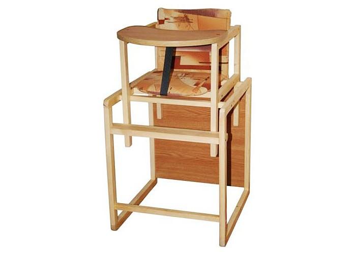 Стульчик для кормления Гудвин Даша столешница ламинатДаша столешница ламинатДеревянный стульчик для кормления - удобный и надежный, из экологически чистого материала.  Он растет вместе с малышом:  сначала это высокий стульчик для кормления, за которым кроха может сидеть рядом с родителями за большом столом затем - полноценное место для еды, со своим личным столом, или комфортное и безопасное место для игры  Внимание! Цвет обивки может отличаться от представленного на фото.<br>