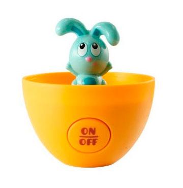 Интерактивные игрушки Ouaps Развивающая игрушка в яйце Угадай где? Бани
