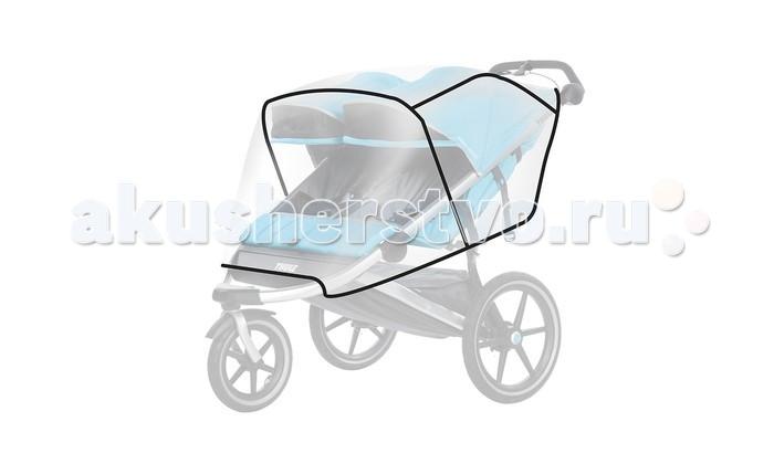 Дождевик Thule для Urban Glide 2для Urban Glide 2Защитный чехол от дождя для детской коляски Thule Urban Glide 2  Особенности Легко надевать Пошит по индивидуальной форме коляски для максимальной защиты от непогоды<br>