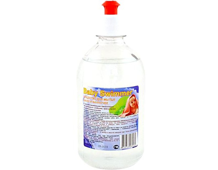 Моющие средства Baby Swimmer Жидкое средство для мытья ванночек 500 мл